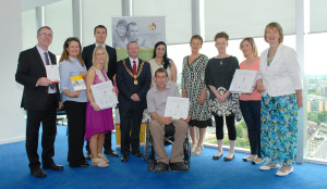 Members of the Cork & Kerry SFP Steering Group with Mayor Chris O' Leary.